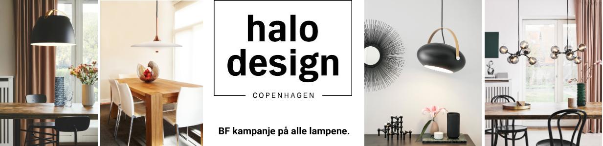 Halo design Black Friday kampanje