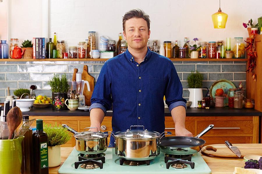 Tefal Jamie Oliver Kjeler & Panner