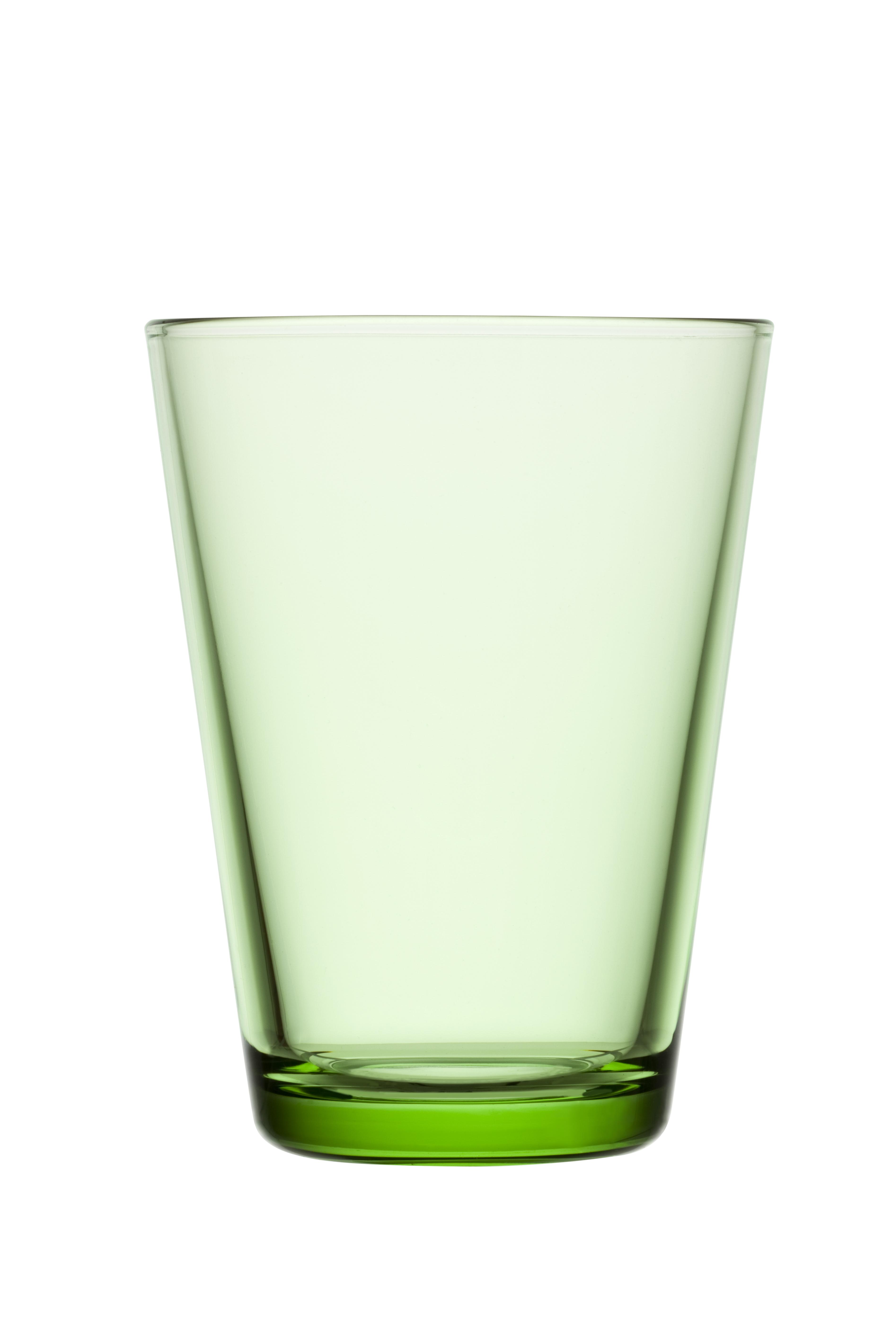 Iittala Kartio Glass Eplegrønn 2stk 40 cl