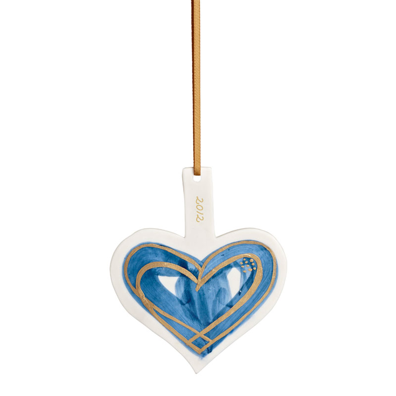 Bilde av Abildgård Annual Heart 2012 Ornament