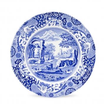 Blue Italian Plate 27cm