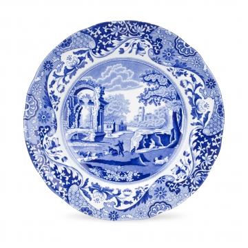 Blue Italian Plate 23cm