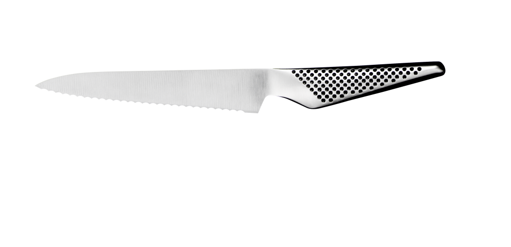 Global GS-14 Brødkniv, liten, 15 cm. Levering desember.