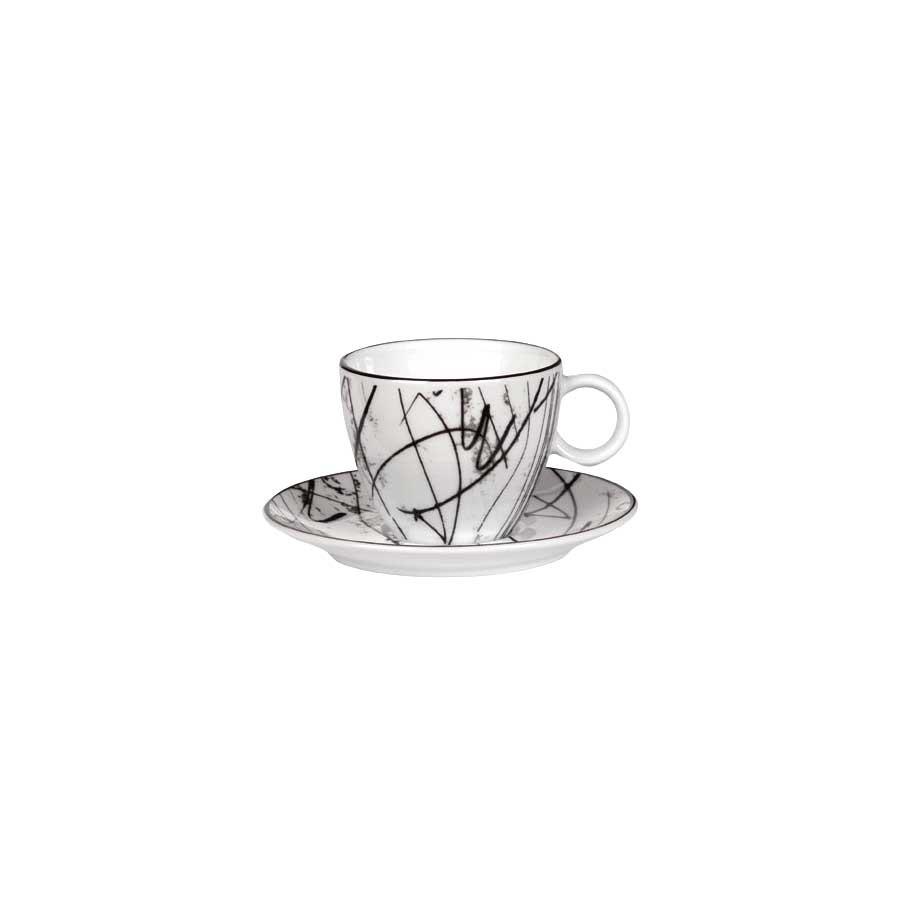 Porsgrund Partitur Kopp & Skål Espresso