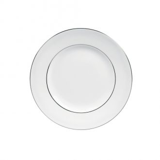 Vera Wang Blanc sur Blanc White Plate 20cm