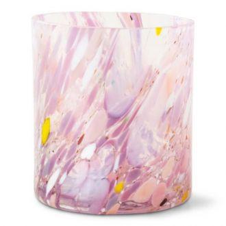 Magnor Swirl Drikkeglass Rosa 35cl