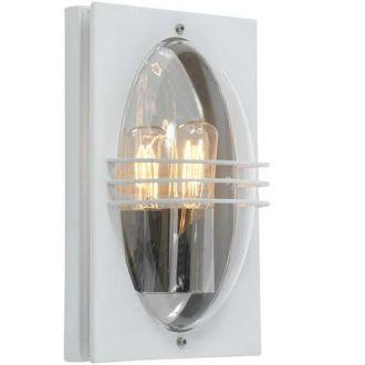 EA Belysning Frogner Vegglampe Hvit