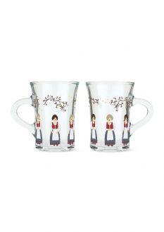 Holmegaard Christmas Hotdrink-glass 2021 24 cl multi 2 stk.