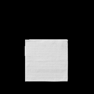 JUNA CHECK VASKEKLUD lys grå, 30 cm x 30 cm