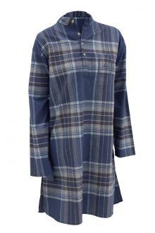 Halvor Bakke Zermatt Nattskjorte Vintage Indigo Flere Størrelser