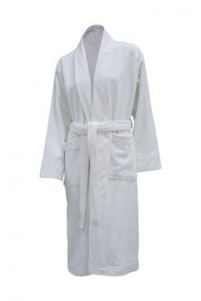Halvor Bakke Clifton Badekåpe Brilliant White Flere Størrelser