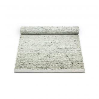 Rug Solid Skinnteppe Limestone Flere Størrelser