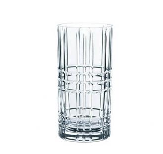 Nachtmann Square Longdrink Glass 4 pk 45 cl
