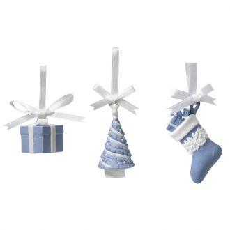 Wedgwood Christmas Julekuler Festive 3stk
