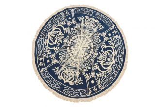 Staalnacke Maya håndkle Ø150 Blue