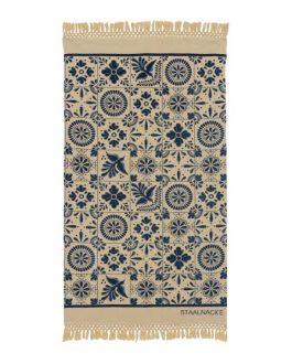 Staalnacke Mosaique håndkle 100x180 Blue