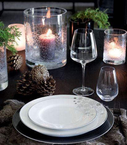 Magnor Lerk Winter Frokosttallerken 22 cm