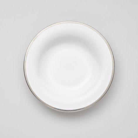 Royal Porcelain Silver Paisley Dyp Tallerken 23,5 cm