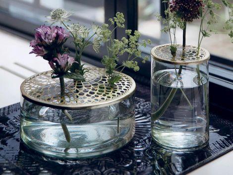 A Simple Mess Kathinka Vase Ø 20,5 X 10 cm Messing