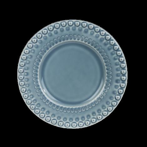 PotteryJo Daisy Desserttallerken 22cm Dusty Blue