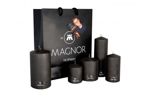Magnor Halvor Bakke Kubbelys m / gavepose