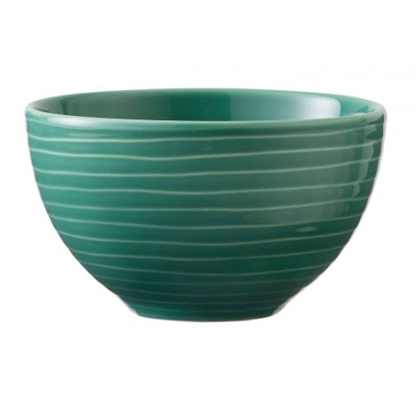 Design House Stockholm Blond Small Bowl Green Stripe 30cl 2stk