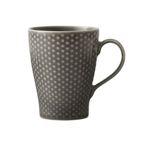 Design House Stockholm Blond Mug Grey Dots. 30 cl 2stk