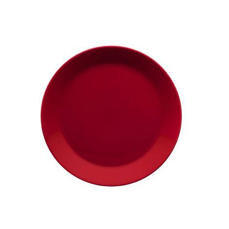 Iittala Teema Rødt Tallerken 21 cm
