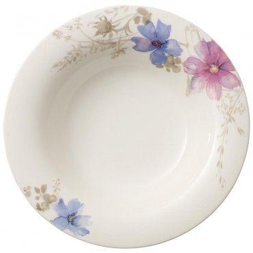 Villeroy & Boch Mariefleur Gris Basic Deep plate 23cm