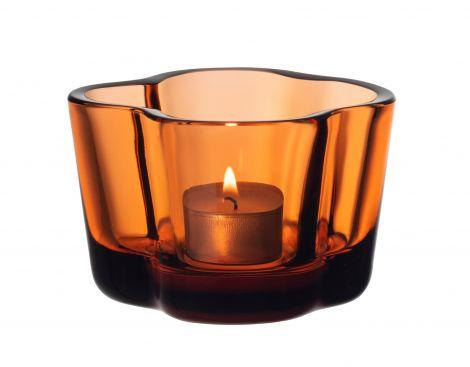 Iittala Aalto Lyslykt 60mm Sevilla Orange