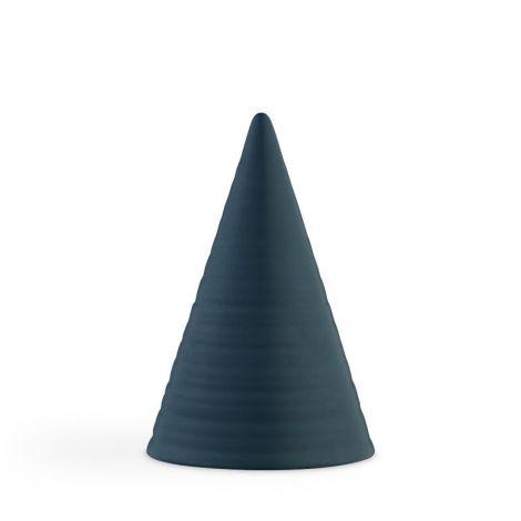 Kähler Originals Glazed Cone Teal Blue H15cm