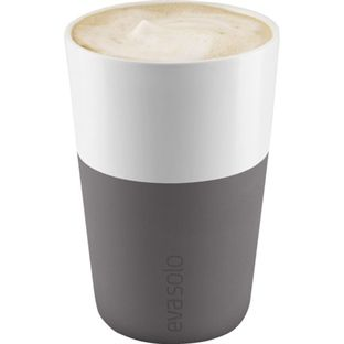Eva Solo Caffè Latte-krus 2stk Elefant Grå 360ml