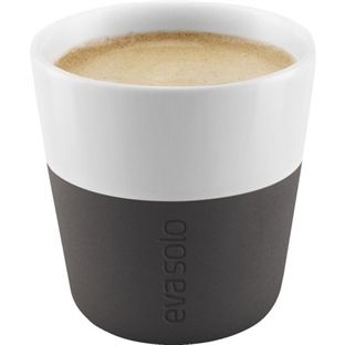 Eva Solo Espresso-krus 2stk Carbon Sort 80ml