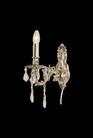 Scan Lamps Allington Vegglampe Antikksølv