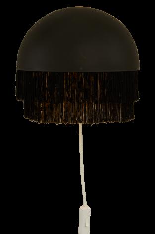 Scan Lamps Fransa Vegglampe Sort