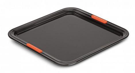 Le Creuset Bakeplate flat 31 cm Svart
