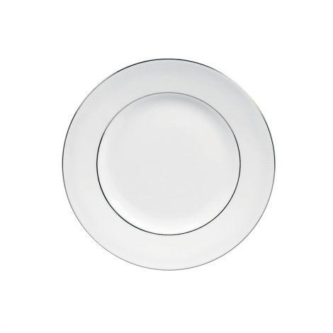Vera Wang White On White White Plate 27cm