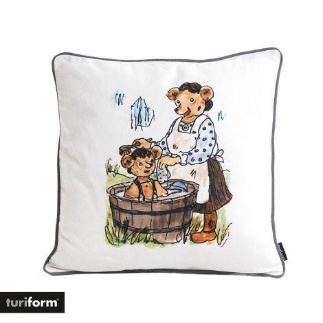 Turiform Egnet vaskestil for småbjørner pute 40 x 40 cm