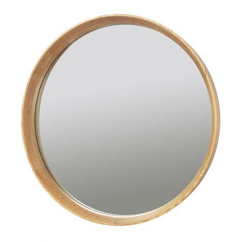 """Broste Copenhagen Speil """"Alva"""" Eik / Glass. Levering i slutten av mars."""