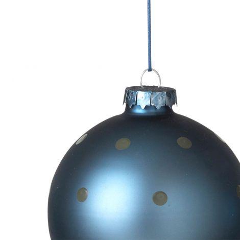 Broste Copenhagen Julekuler Orion Blue