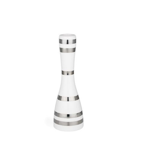 Kähler Omaggio Lysestake Sølv Medium