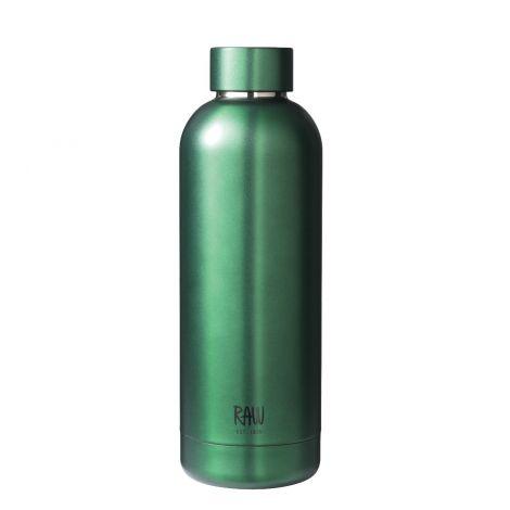 Aida RAW Termoflaske i Stål Grønn 0,5L