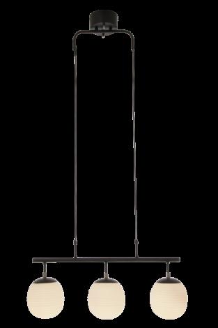 Scan Lamps Rille Taklampe Sort/Opal