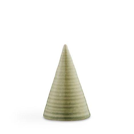 Kähler Glasurtopp H 11 cm Limegrønn