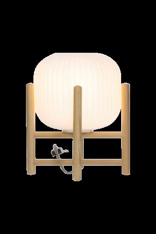 Scan Lamps Vinda Bordlampe Tre/Hvit