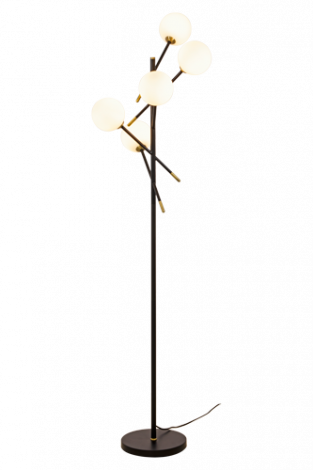 Scan Lamps Akrobat gulvlampe sort