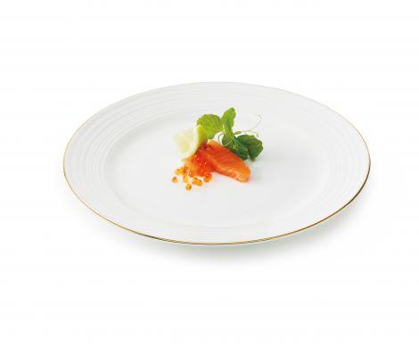 Aida Passion Gullkant Frokosttallerken 23 cm 4stk - U
