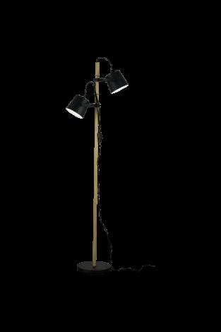 Scan Lamps Espresso Gulvlampe Sort
