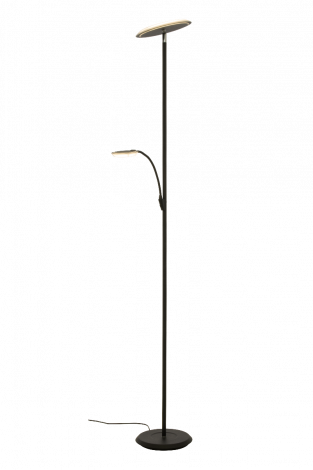 Scan Lamps Stockholm Uplight Gulvlampe Sort