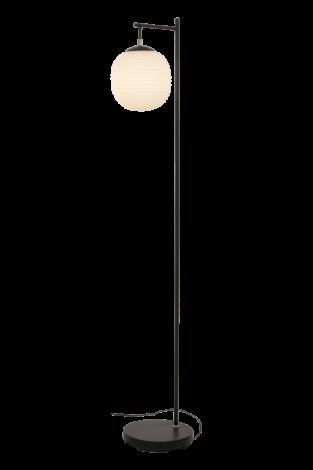 Scan Lamps Rille Gulvlampe Sort/Opal